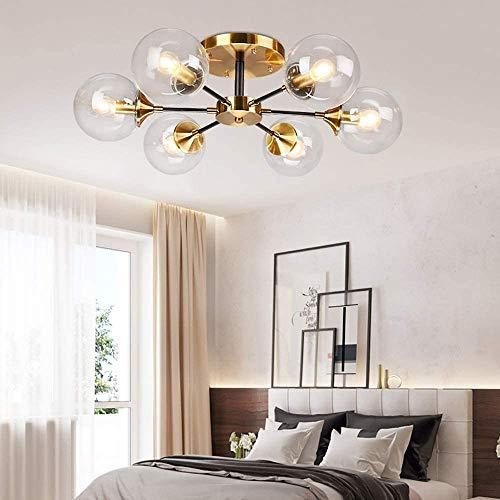 YANQING Duurzame Hanglamp Plafond Lamp Eenvoudige Moderne Creatieve Persoonlijkheid Glas Kinderkamer Magic Bean Moleculaire Lamp 68 * 25 cm Hanglamp