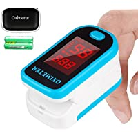 Tomorotec Fingertip Pulse Oximeter Blood Oxygen Saturation Monitor