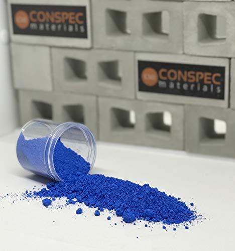 Conspec 2-oz SURF Blue Powdered Color for Concrete, Cement, Mortar, Grout, Plaster, Colorant, Pigment
