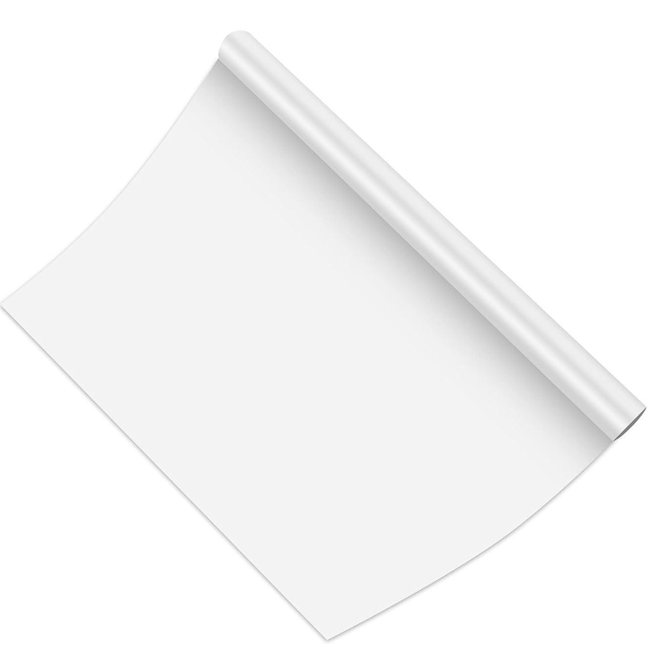 行商人つかの間泥だらけホワイトボード シート 45*200cm Fohil 厚め ウォールステッカー 壁に貼ってはがせる ご随意に裁断 壁紙 勉強用 会議 セミナー用 お絵かき 落書き 水性ペン付き