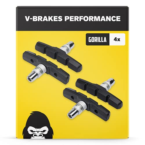 Gorilla Bikes, kompatibel mit Shimano, Promax uvm. -  V-Brake Bremsbeläge