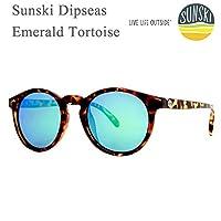 sunski サンスキー サングラス Dipseas Tortoise Emerald-Polarized SUN-DS-TEM sunski サングラス 偏光サングラス【C1】