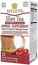 Hyleys Slim Tea Goji Berry - 25 Tea Bags (100% Natural, Sugar Free, Gluten Free and Non GMO)