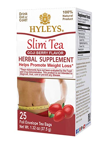 Hyleys Slim Tea Goji Berry (1 Pack)