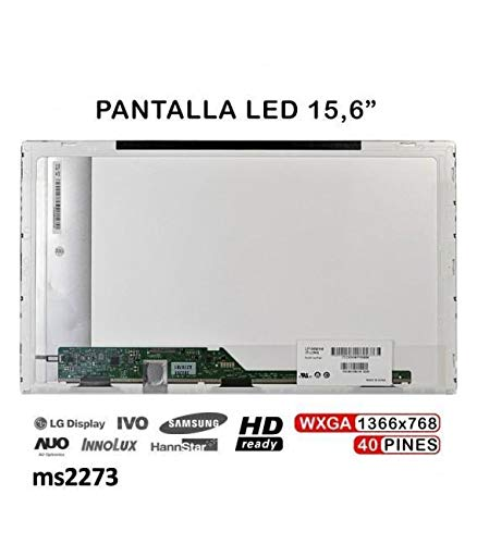 IFINGER Pantalla para / Packard Bell Easynote TE11-HC 15.6 1366X768 40PIN LCD LED Compatible