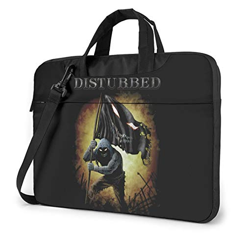 DFHDFH Disturbed Band Laptop Bag Laptop Sleeve Case with Shoulder Straps & Handle/Notebook Computer Case Briefcase Compatible 13 inch