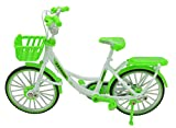 TANG DYNASTY 1:10 7inch Metal Mini Lady's Bicycle Bike Model DIE CAST Toy Finger Bikes (Green)