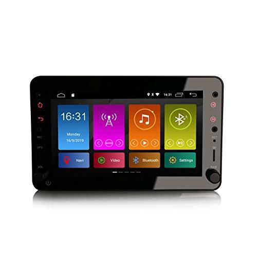 ERISIN 7 Zoll Android 10.0 Autoradio für Alfa Romeo Brera Spider 159 Sportwagon mit GPS-Navi Unterstützt Bluetooth WiFi 4G DAB + RDS Mirror- Link TPMS Eingebauter CarPlay DSP-Verstärker