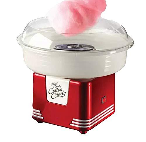 Ouumeis Maquina Algodon Azucar|Cotton Candy Maker 220V,Usar Azúcar Regular Caramelo Duro,Eléctrica Profesional...