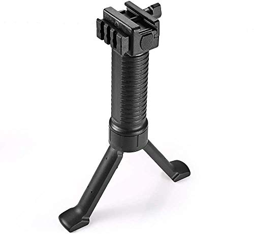 Sumlink Direct 6-9 Inches Tactical Bipod with Foldable Legs,Black