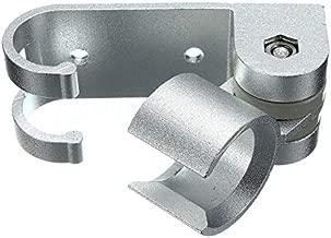 HEASEN Wall Mounted Aluminum Shower Head Holder Bathroom Fixture Shower Kits Adjustable Shower Head Support Holder For Household