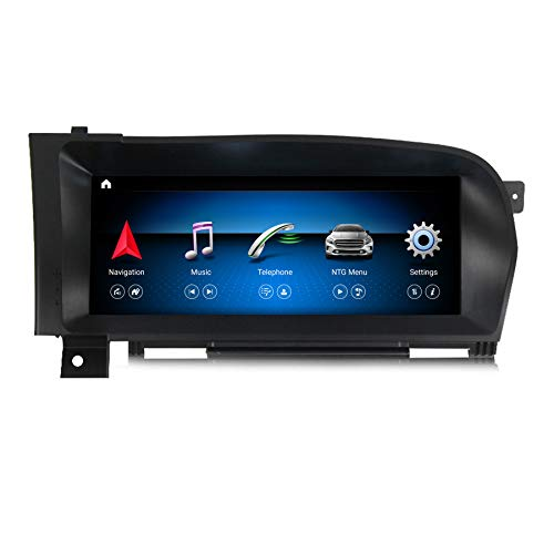 MekedeTech 10.25'' Android 10 8 Core 4+64G Car Radio Multimedia Player GPS Navigation for Mercedes Benz S W221 W216 CL 2005-2013 S-Class Head Unit (NTG 3.5)