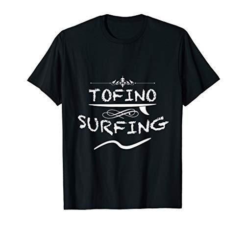 Tofino Surf Spot Surfen in Kanada Geschenkidee Vintage T-Shirt