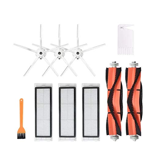 Best Review Of Vacuum Cleaner Replacement Kit 10pcs Replacements Accessories for Roborock S6 S5 E35 ...