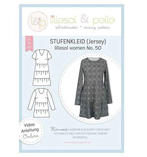 Lillesol Stufenkleid Jersey No.50 women Gr.34-50 Papierschnittmuster