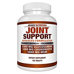Powerful joint relief; a complete dietary supplement for joints; it helps repair cartilage, boost joint mobility, increase joint flexibility, support joint structure and protect joint tissue; suitable for anyone with joint pain, joint inflammation or...