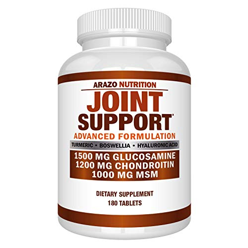 ★ POWERFUL JOINT RELIEF – A complete dietary supplement for joints. It helps repair cartilage, boost joint mobility, increase joint flexibility, support joint structure and protect joint tissue. Suitable for anyone with joint pain, joint inflammation...