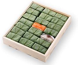 [ 高野街道名産 柿の葉寿司 ] 柿の葉すし(鯖・鮭)21個入