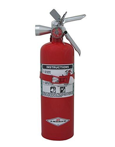 Amerex B386T, 5lb Halotron I Class B C Fire Extinguisher by Amerex