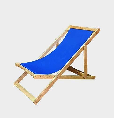 Tumbonas de jardín tumbona/tumbona/silla de playa o de camping reclinable,Blue