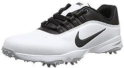 Nike Mens Air Zoom Rival 5 Golf Shoes, White (White / Metallic Silver), 43 EU
