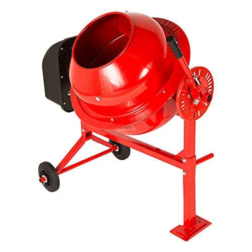 Electric Cement Mixer 70 Litre 275W Portable Concrete Mortar Mixing Machine...
