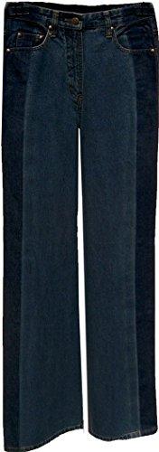 C.L.Y.S. Marlenejeans Damenjeans Marlenehose Damen Jeans weites Bein Deutsche Gr. 34 (Keine inch-Grösse)