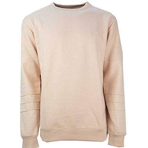 SoulStar BIS02 Sweat-Shirt Homme, Rose (Pink F0D4D1), X-Large
