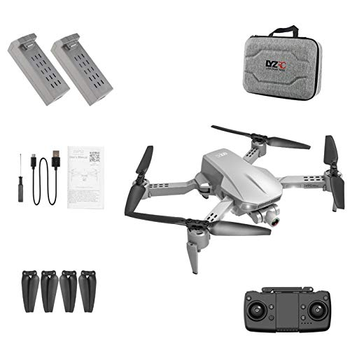 A-A Drohne Mit Kamera 4K HD, Mini Faltbare Drohne WLAN 120 ° Weitwinkel RC Quadrocopter, 16 Minuten Flugzeit, Handy Steuerung, Flugbahnflug, Ideal Für Kinder