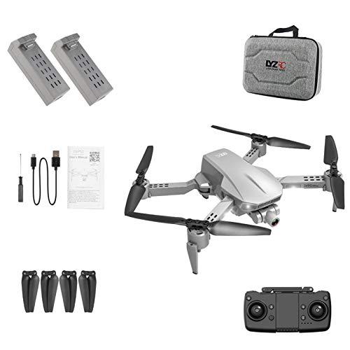 iBaste - Drone con fotocamera 4 K, pieghevole, 4 assi, GPS, 4 K, ad alta risoluzione