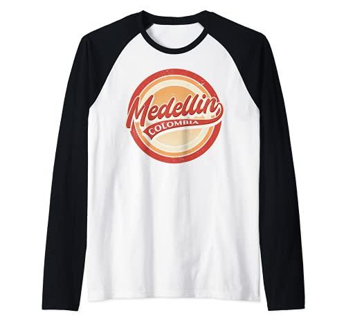 Hombre Medellín Colombia Camiseta Manga Raglan