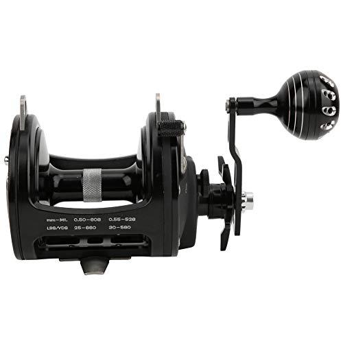 VGEBY Mulinello TR10000 Accessorio per Mulinello da Spinning per Pesca in Mare con Sacco da 30 kg Forza di frenata Massima(Nero)