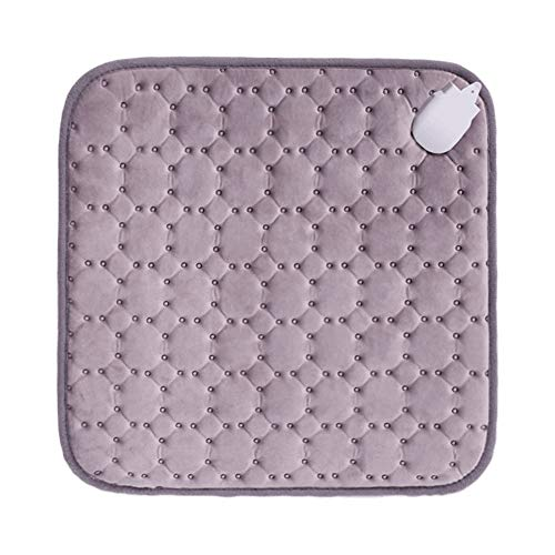 Soft Safe Electric Heat Pad,Machine Washable Heating Pad Seat Cushion Heat Pads With 3 Heating Levels For Office Chair Cushion