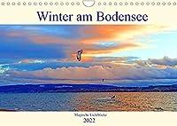 Winter am Bodensee - Magische Lichtblicke (Wandkalender 2022 DIN A4 quer): Der Bodensee ist auch im Winter ein absolutes Highlight (Monatskalender, 14 Seiten )