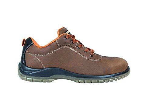 Exena 1101028013436 - Gea - scarpe di protezione del lavoro, dimensione 43, marrone