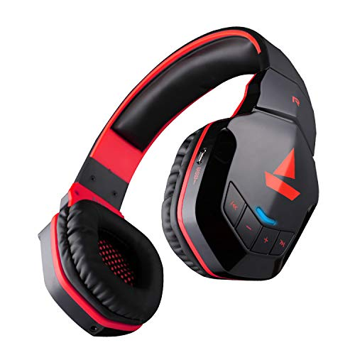 boAt Rockerz 510 Super Extra Bass Bluetooth Headset with Mic Black Red