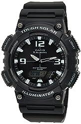 small Casio AQS810W-1AVC FAQ-S810W-1AV Solar Combo Men's Watch