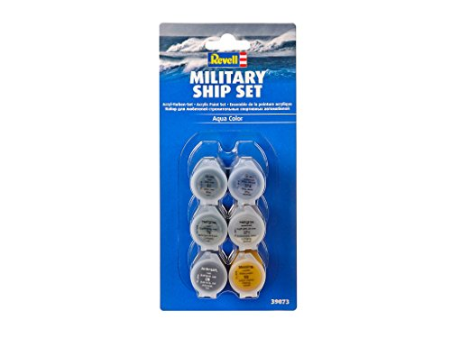 Revell 39073 8 Modellbau Farben-Set Militärschiffe