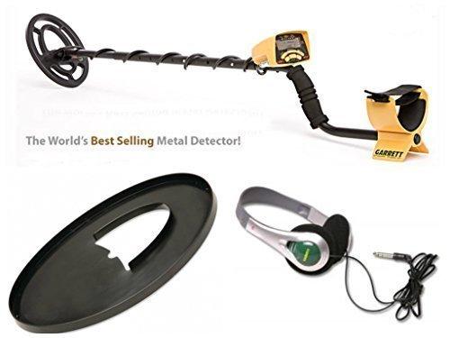 Metal Detector Garrett Ace 250 + Accessori Cuffia E Copri Bobina CERCAMETALLI