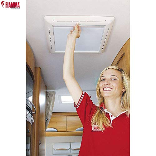 Fiamma Rollo Vent - Ventana, 40x40, Color Blanco