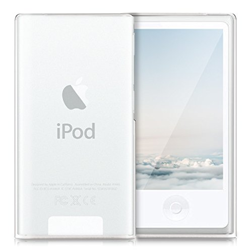 kwmobile Funda Compatible con Apple iPod Nano 7 - Carcasa de TPU para móvil - Cover Trasero en Transparente Mate