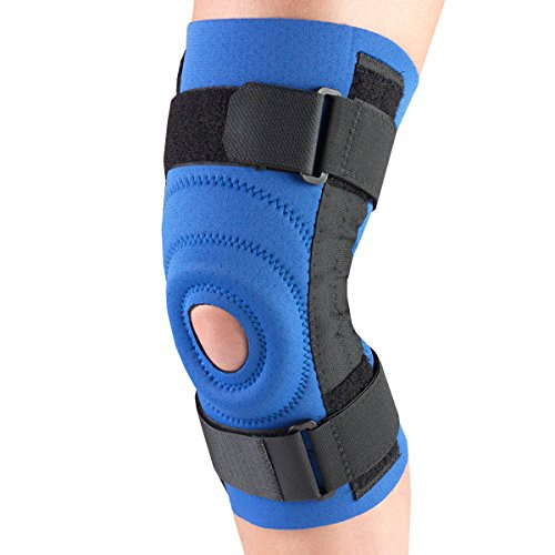 OTC Knee Stabilizer, Spiral Stays, Neoprene, Blue, Small