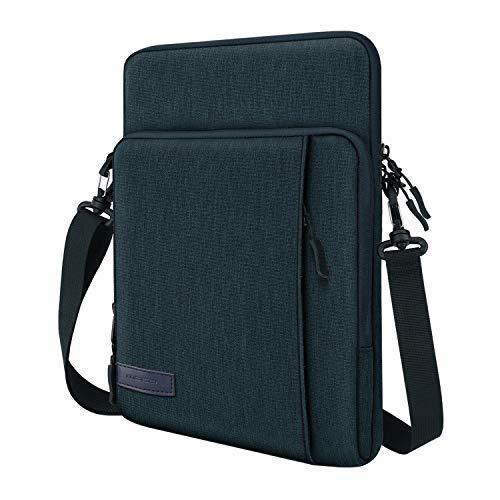 MoKo 12.9 Zoll Tablet Hülle Kompatibel mit iPad Pro 12.9 2021/2020/2018, iPad Pro 12.9 2017/2015, Surface Tablet Go 12.4