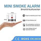 Zoom IMG-1 rilevatore di fumo mini heiman