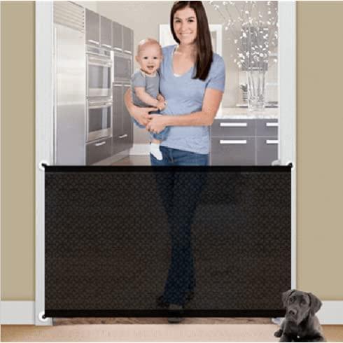 Pet Gate, Portable Folding Mesh Safety Gate