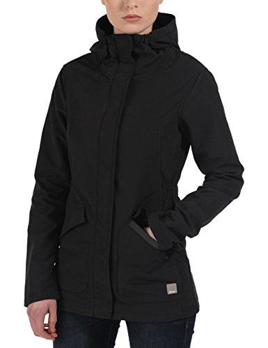Bench Damen Jacke Kapuzenjacke Suburb schwarz (Jetblack) X-Small