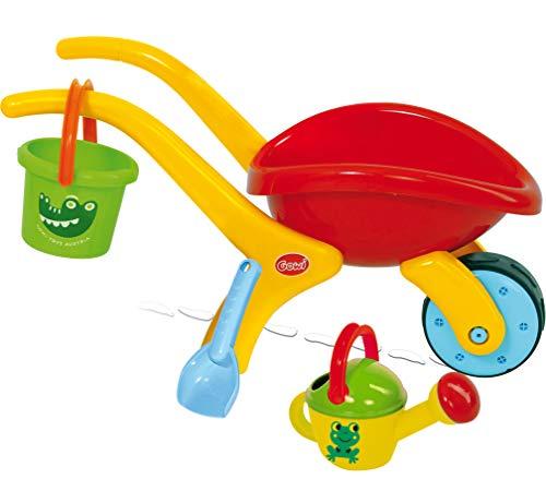 Gowi 557-52 Design Schubkarren Set Classic unmontiert, Sandkästen und Sandspielzeug