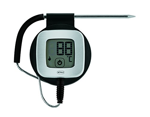 Rösle 25096 nucléaire Température Couteau Bluetooth, Noir