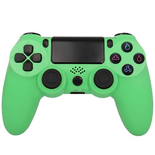 CNMLGB Wireless Controller für PS4 Slim/PS4 Pro,USB Controller für PC,Bluetooth Gamepad mit Dual-Vibration Audiofunktionen Playstation Controller Joystick - Crackle Style,R6