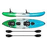 Vibe Kayaks Skipjack 120T 12 Foot Tandem Angler and...